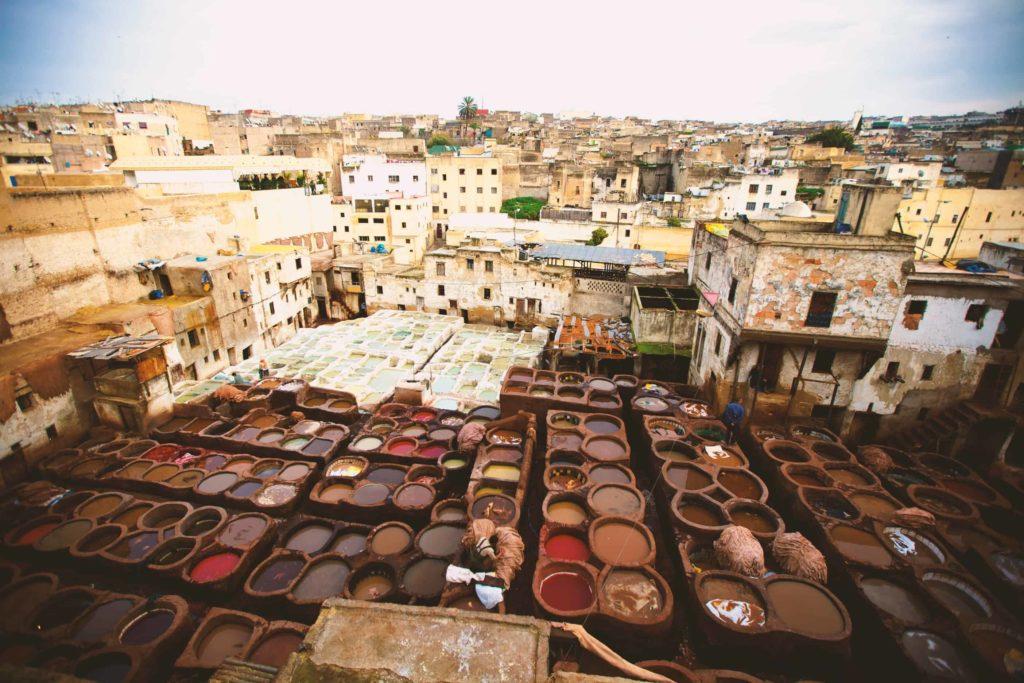 2 days desert tour from Marrakech to Fes