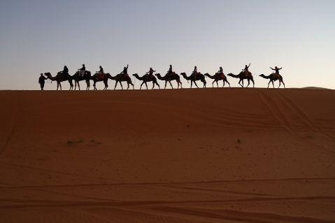 4 day desert trips from marrakech